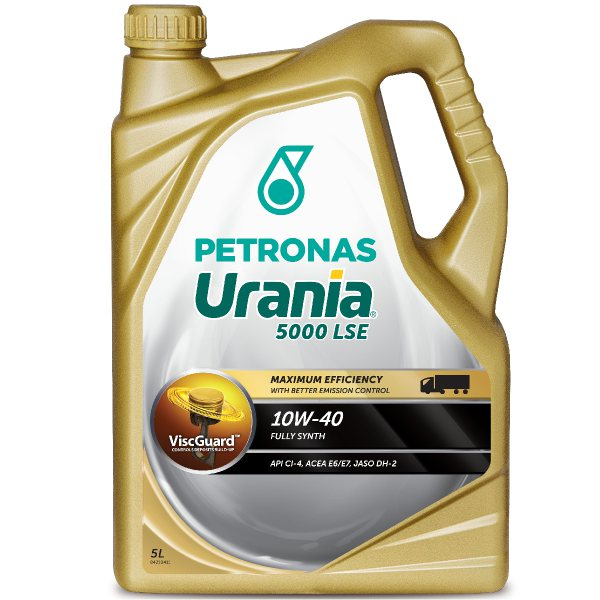 petronas urania 5000 lse 10w40 5l